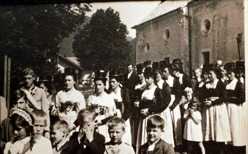 Messfeier an der St. Anna Kirche